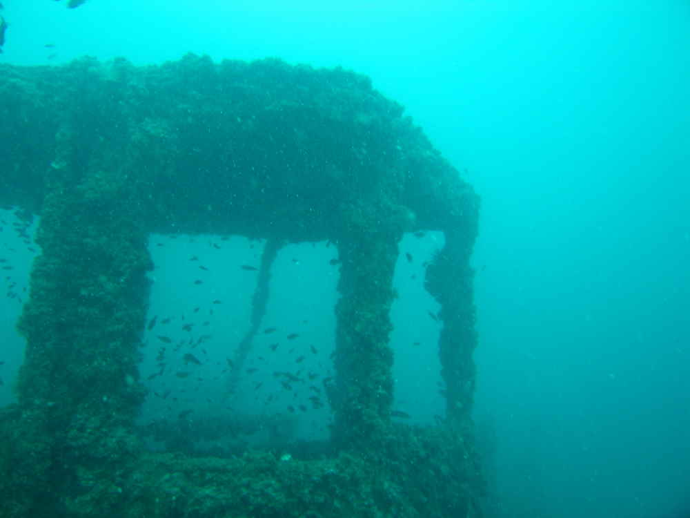 Photo of a part of the King Cruiser wreck.