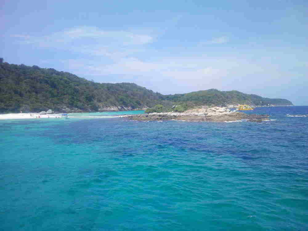 Photo of the South tip of Koh Racha Noi.